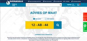 Webshop overwegolie.nl